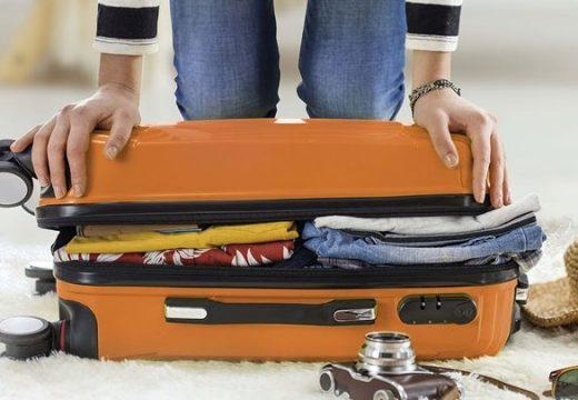 5 правила за бързото опаковане на багаж