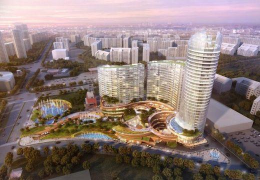 За високите и ниските сгради, паркингите и градинките