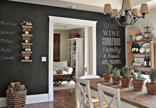 """30+ идеи за """"черна дъска"""" у дома"""