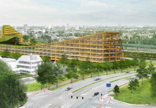 Най-голямата дървена сграда в света ще е в Холандия