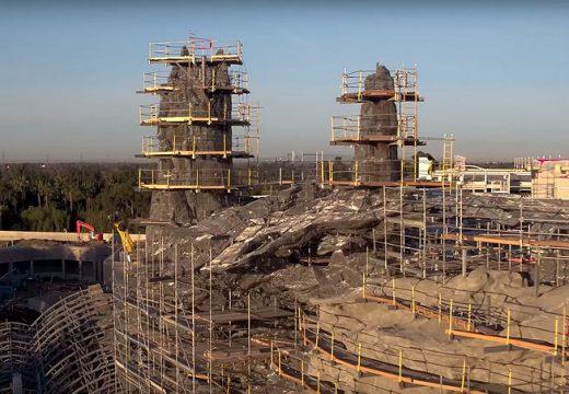 """Първи кадри от парковете """"Междузвездни войни"""" (видео)"""