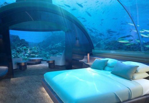 Най-готината хотелска стая е под водата
