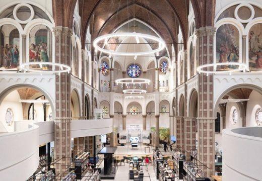 Прекрасна църква се преобрази като библиотека