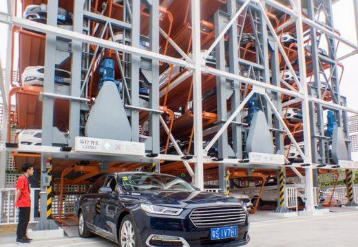 В Китай отварят вендинг машина за коли