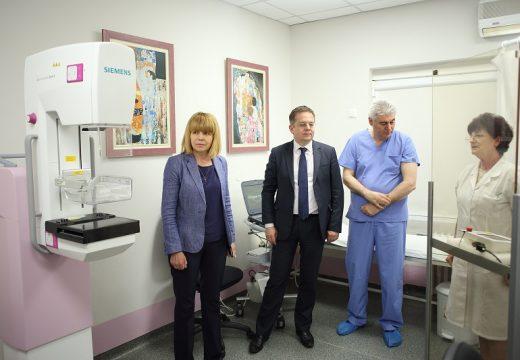 """Фандъкова: Инвестираме около 1 млн. лв. в болница """"Шейново"""""""
