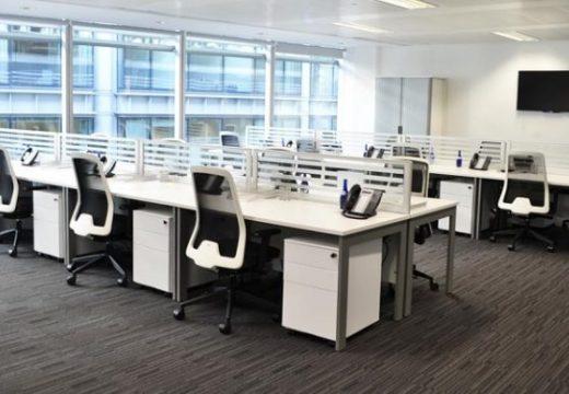 Ръст в наемането на офис площи в София