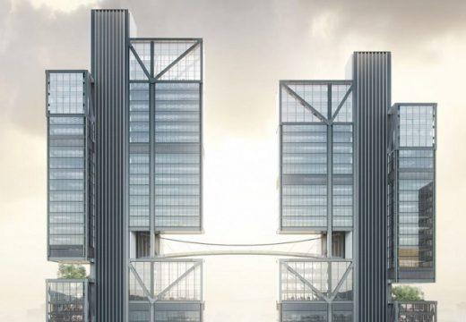Архитекти правят цяла общност в небесата