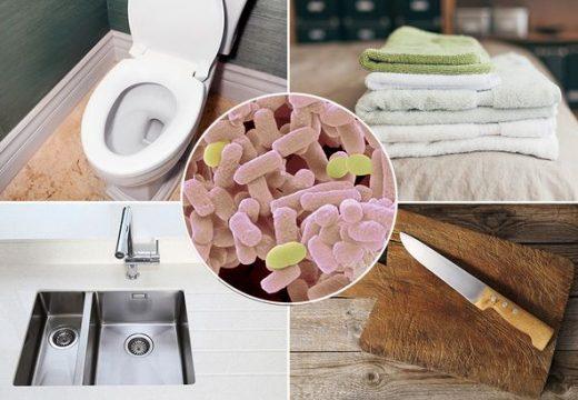 9 от най-мръсните места у дома и как да ги чистим