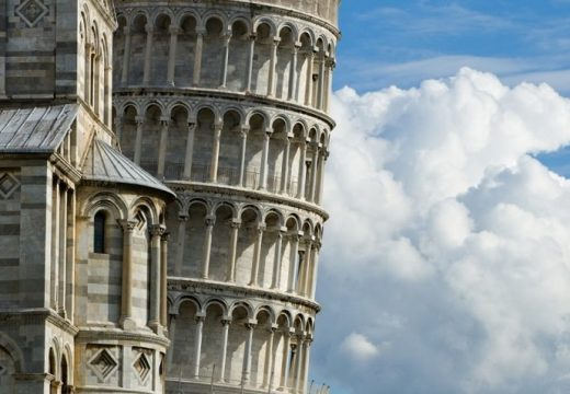 Как кулата на Пиза не е паднала досега?