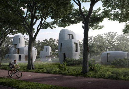 Първите 3D принтирани жилищни сгради са в Холандия