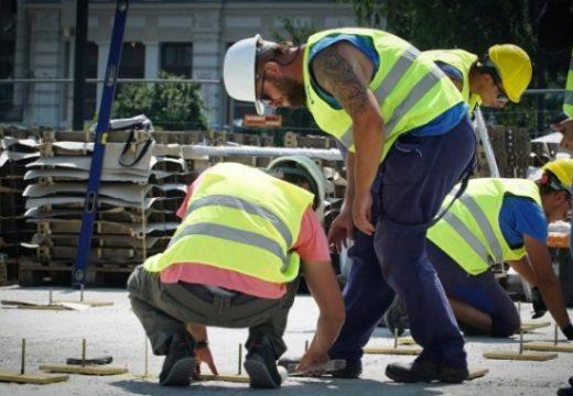Започна изграждането на Бронзовата къща в София