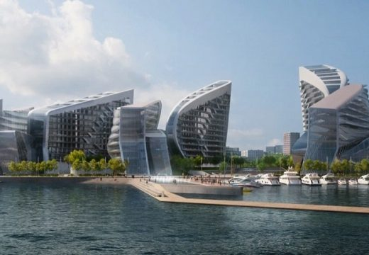 Архитектите на Заха Хадид проектират най-голямото пристанище на Русия