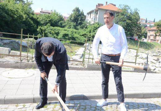 Три първи копки за един ден в Пловдив
