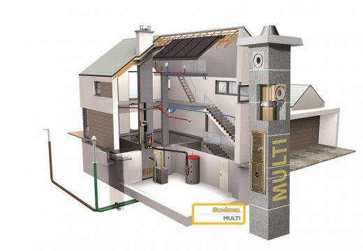 Buldach предлага пълен инженеринг на коминни системи Schiedel
