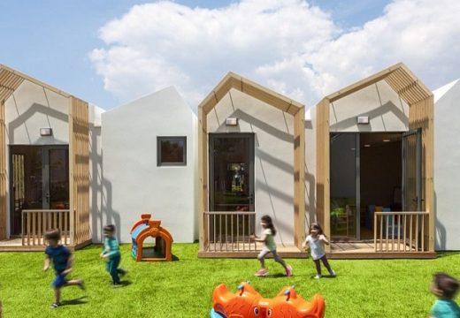 Детска градина в Гърция имитира малко селце