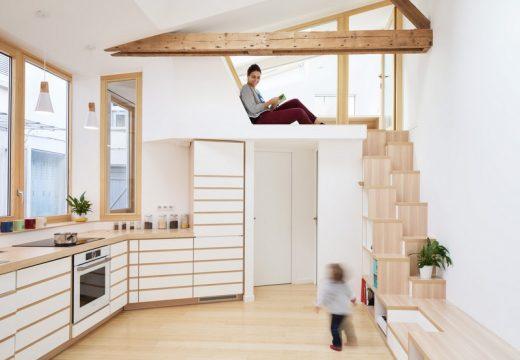 Малко студио стана на модерен семеен апартамент
