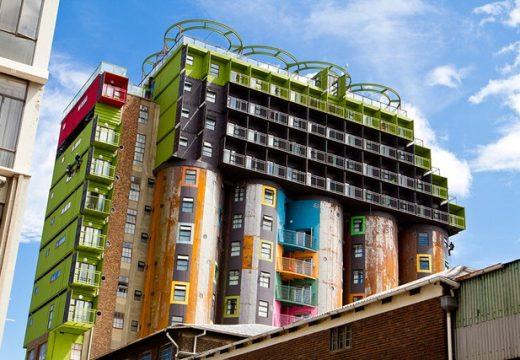 Архитектурата от контейнери по света