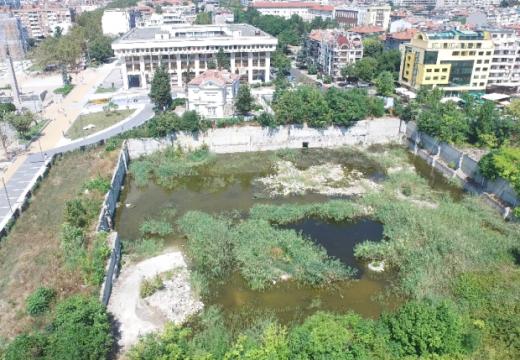 """""""Жабарникът"""" в Бургас се превръща в парк"""