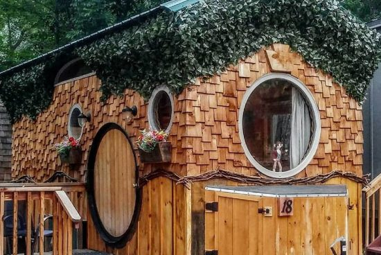 Хобитовата къщичка на колела