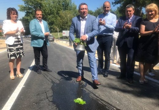 Завърши ремонтът на пътя между Горна Оряховица и Арбанаси