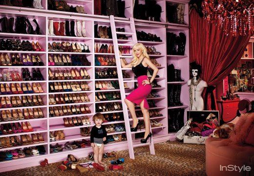 В гардеробите на известните