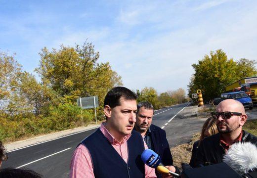 """""""Брезовско шосе"""" е подновено след ремонт"""