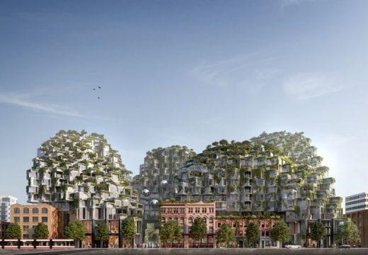 Архитекти интегрираха стари сгради в ново строителство