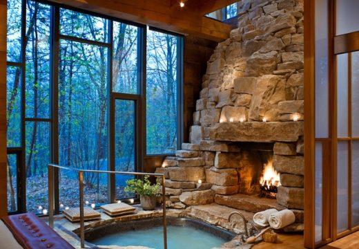 10-те най-красиви хотелски стаи с камина