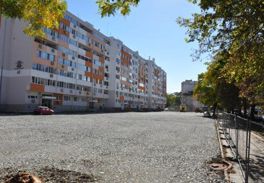 Нови 200 паркоместа за жителите на Бургас