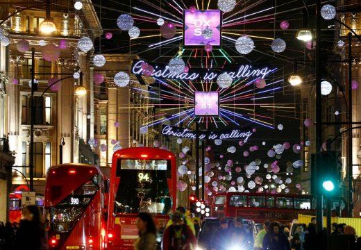 Коледата дойде в Лондон