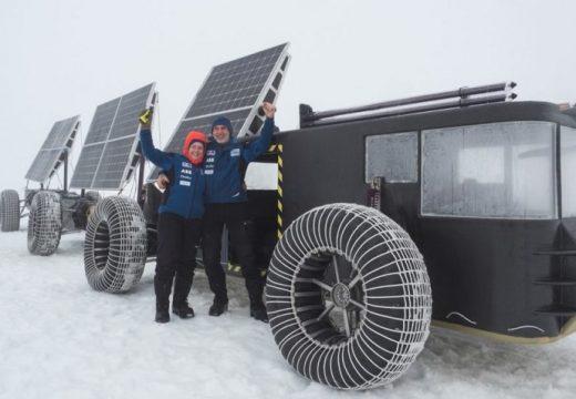 До Южния полюс с 3D принтиран автомобил
