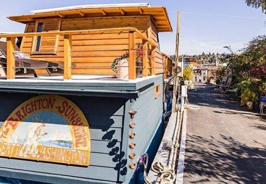 Изненадващо широка лодка е прекрасен дом за авантюристи