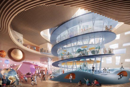 Snøhetta проектира супер модерна детска градина