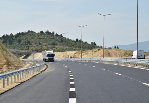 Пускат магистралата между Кресна и Сандански