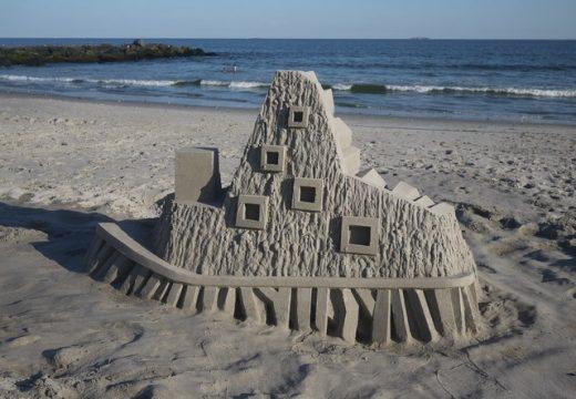 23 невероятни примера за пясъчни замъци като архитектура