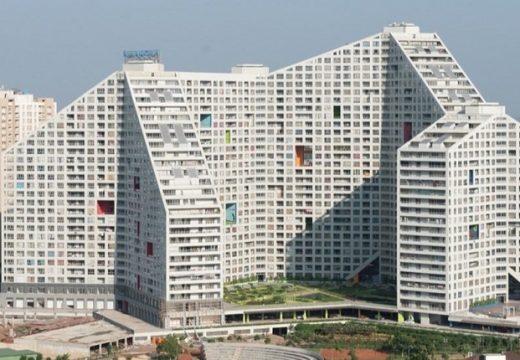 MVRDV завърши жилищна сграда за 5000 човека