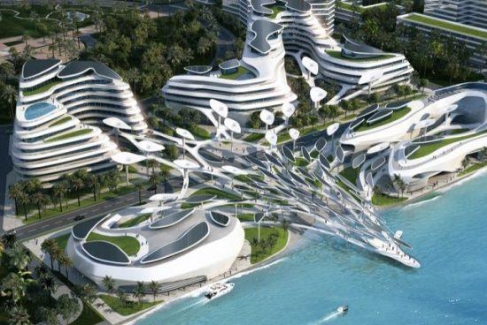 Футуристичен еко град ще бъде построен на Малдивите