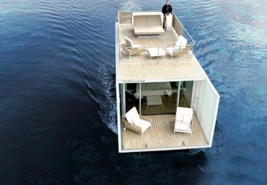 Плаващ хотел се движи със слънчева енергия