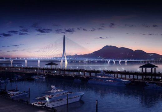 Архитектите на Заха Хадид проектират нов рекорден мост