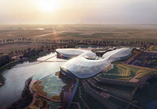 Извънземна сграда ще опазва застрашена река
