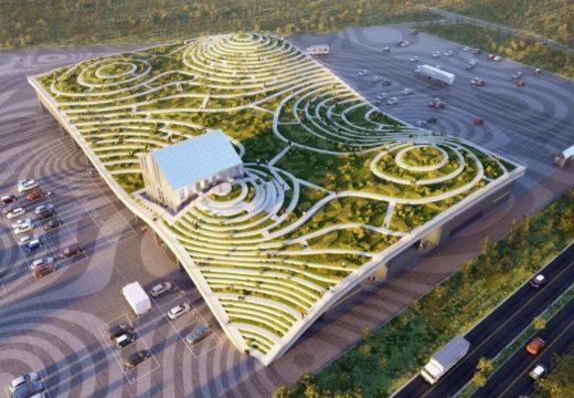 MVRDV превръща покрива на пазар в зеленчукова градина