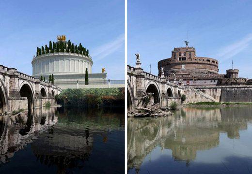 Рим: В Древността и сега (СНИМКИ)