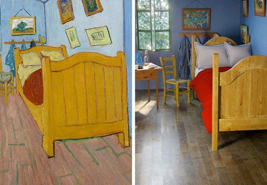 6 известни картини на стаи съживени в реалността (СНИМКИ)