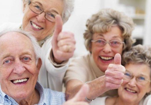 Хората са най-щастливи на 70 години