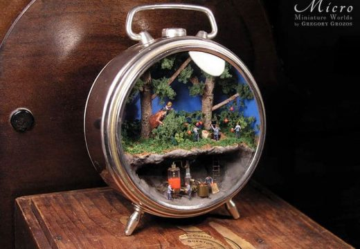 Микроскопични светове в часовници