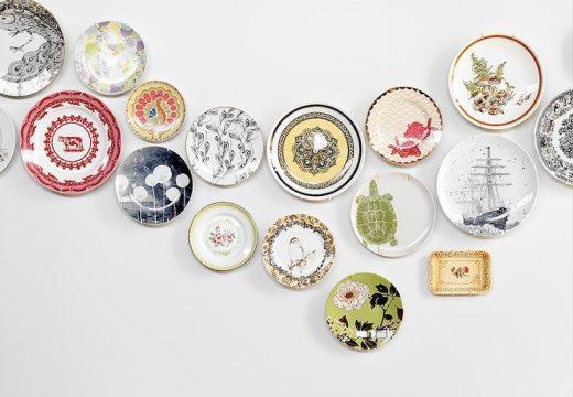 20+ идеи за декорация с порцеланови чинии