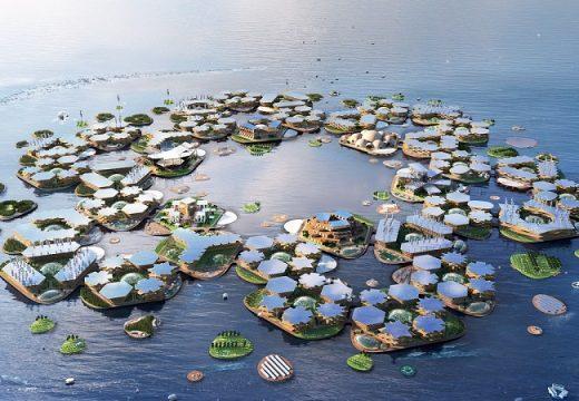 ООН разкри плановете за плаващи градове на бъдещето
