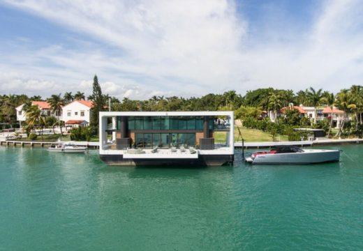 Екологични плаващи домове на слънчева енергия