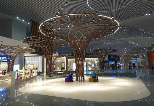 Новото летище на Истанбул отвътре (снимки)