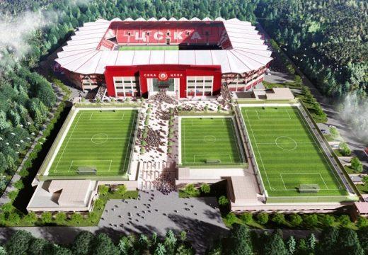Представиха нови проекти за стадион на ЦСКА (снимки)